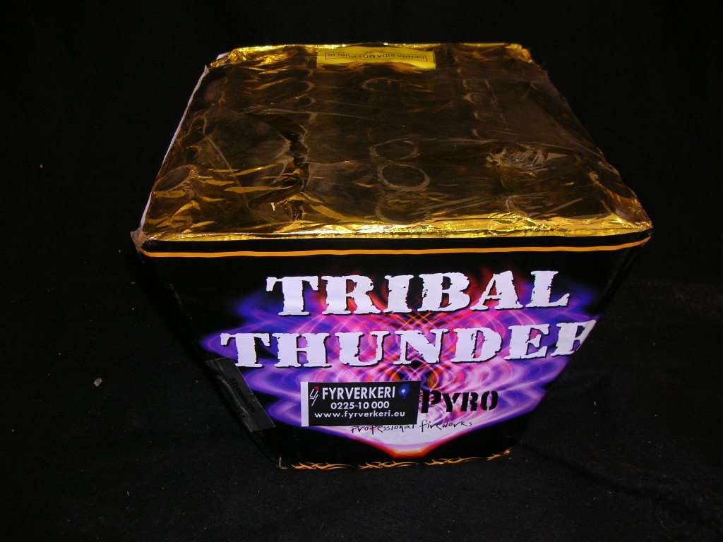 fyrverkeri tribal thunder